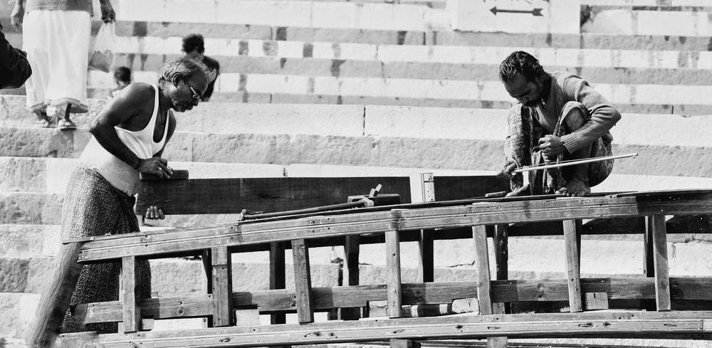 Hvis en tømrer og snedker overtager for hinanden…