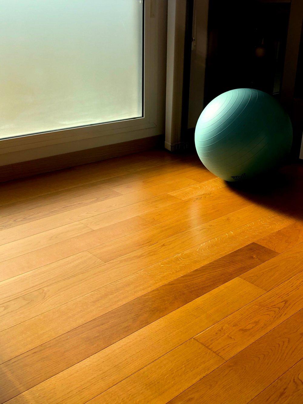 Intet pynter på boligen som et nyslebet gulv